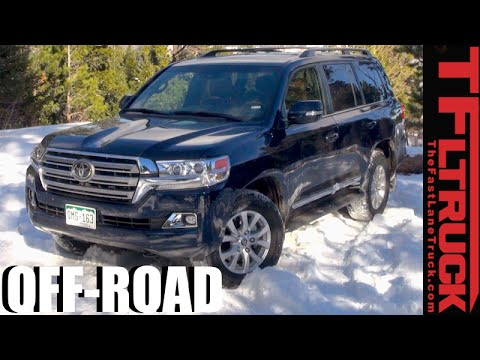 2016 Toyota Land Cruiser Real World MPG Test U0026 Snowy Off Road Review