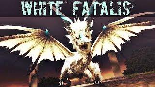 「Monster Hunter Frontier Z」 White Fatalis G Rank Gameplay | [MHF-Z] Quest Hardcore