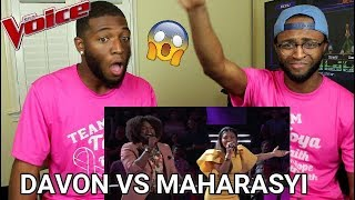 The Voice 2017 Battle Davon Fleming vs Maharasyi 34