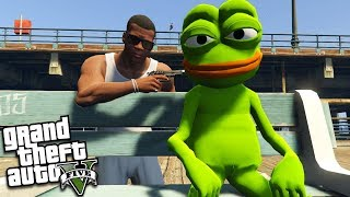 POGGERS the FROG is a CRIMINAL (GTA 5 Mods)