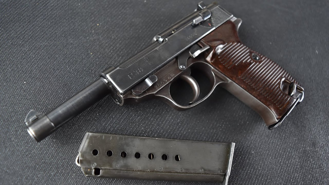 Walther P38 (AC43)...Awesome German Combat Handgun
