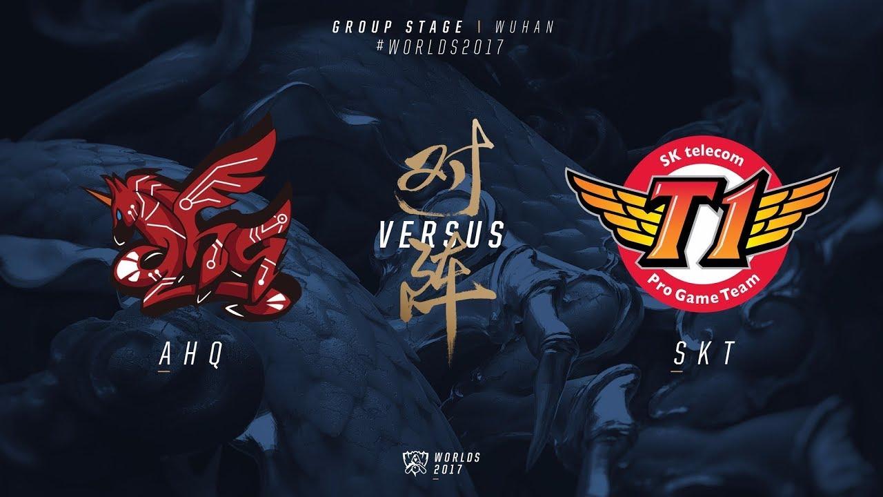 AHQ vs. SKT | Group Stage Day 8 | 2017 World Championship | ahq e-Sports  Club vs SK telecom T1LoL Esports 210972 ahq x SKT (Fase de Grupos - Dia 8)  ...