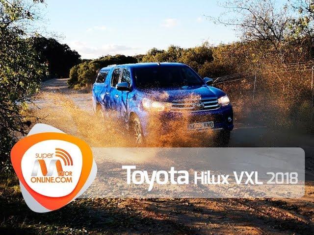 Toyota Hilux 2018 / Al volante / Prueba dinámica / Review / Supermotoronline.com