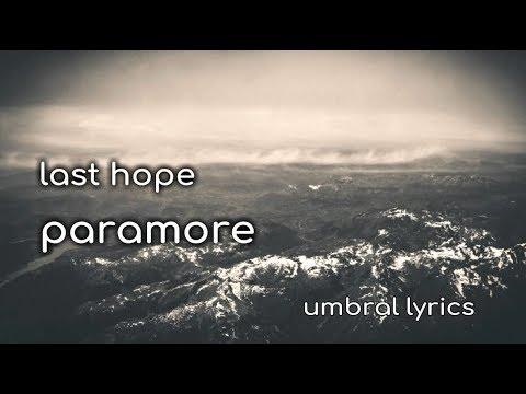 last hope || paramore || ingles - español