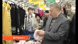 Жириновский в магазине