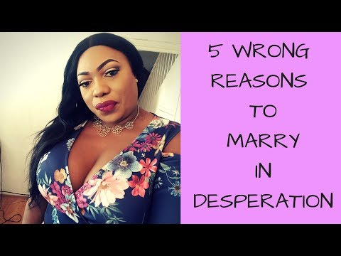 5 WRONG REASONS TO MARRY || OBODO OYINBO TV