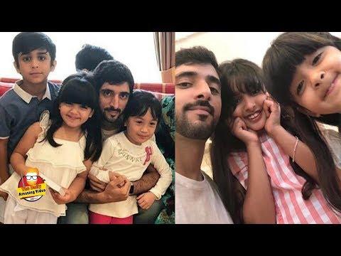 Sheikh Hamdan With Family In London 2018