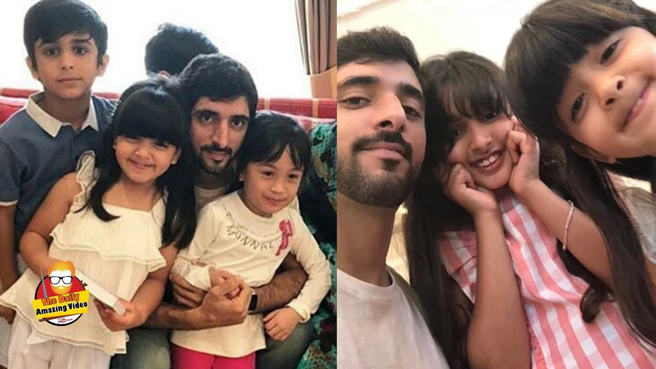 Sheikh Hamdan With Family In London 2018