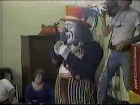 """(WHNT) News 19 """"Patches The Clown"""" 1986"""