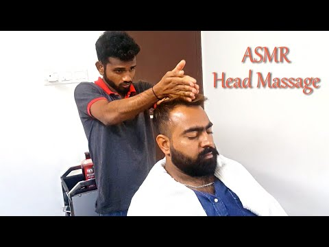 Best head massage - asmr head massage
