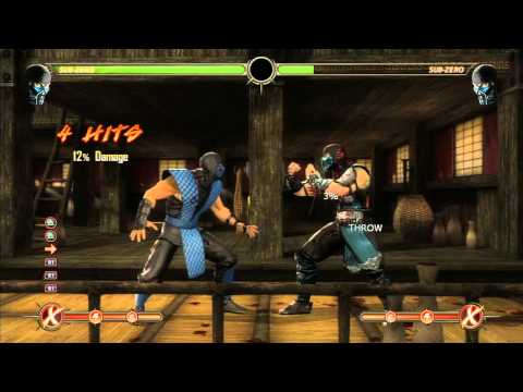 Mk9 Sub-Zero Combos/ Strategy guide to becoming a better player