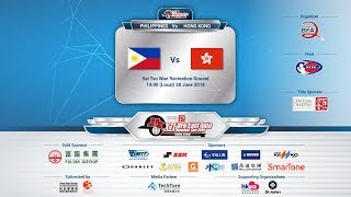 XII BFA East Asia Baseball Cup 2018 - Hong Kong vs Phillippines (Live)