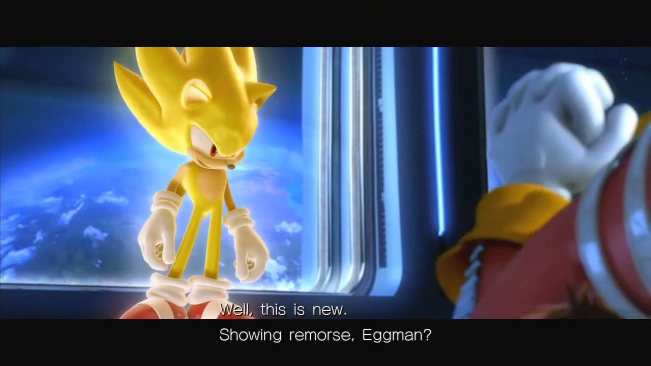 sonic unleashed opening cutscene hd youtube