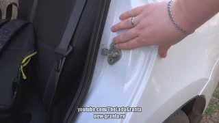 Lada Granta - инструкция по регулировке дверей.(, 2014-05-09T21:52:05.000Z)