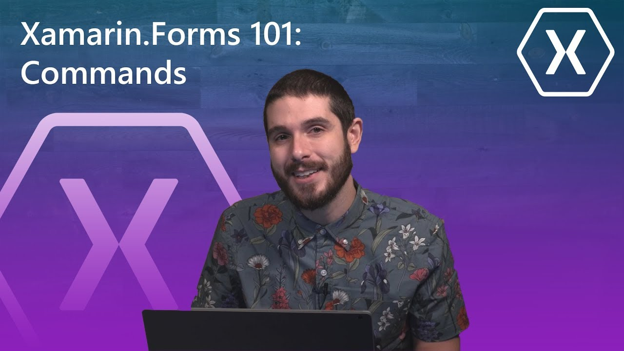 Xamarin Forms 101: Commands