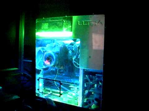 "Logisys 6"" dual cold cathode light kit clk6 white, blue or uv."