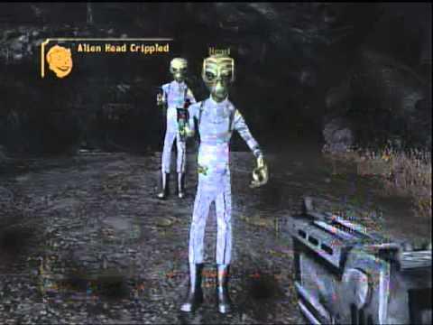 Fallout New Vegas: Alien Blaster Location - YouTube