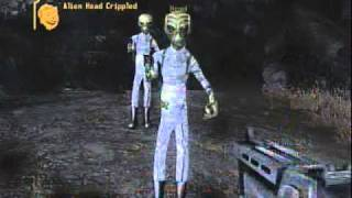 Fallout New Vegas Alien Blaster Location