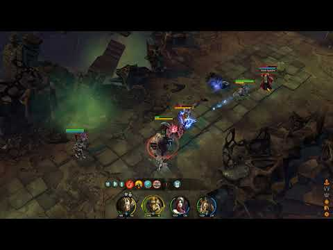 Aarklash: Legacy short gameplay  