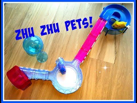 Unboxing en demonstratie Zhu Zhu Pets en hun Speeltoestellen (winactie open!)