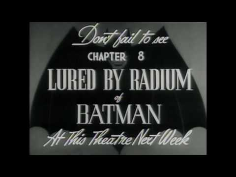 1943 Batman Serial UnEdited and Edited Scene