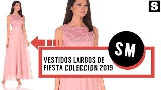59d4fc5b3 VESTIDOS LARGOS DE FIESTA 👗 ¡CATALOGO 2019!