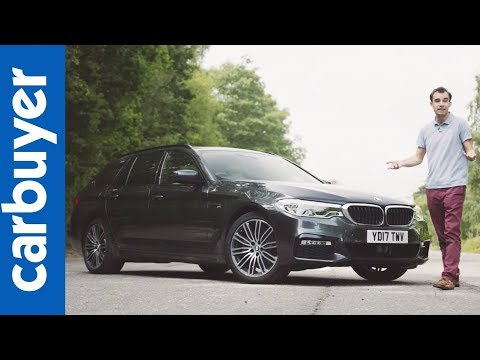 BMW 5 Series Touring review 2017 – James Batchelor - Carbuyer