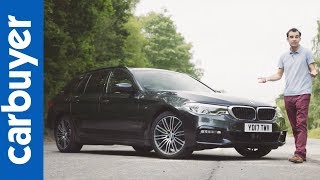 New 2017 BMW 5 Series Touring in-depth review – Carbuyer – James Batchelor