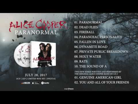 """Alice Cooper - The Official Paranormal Pre-Listening - The new album """"Paranormal"""" out July 28, 2017"""