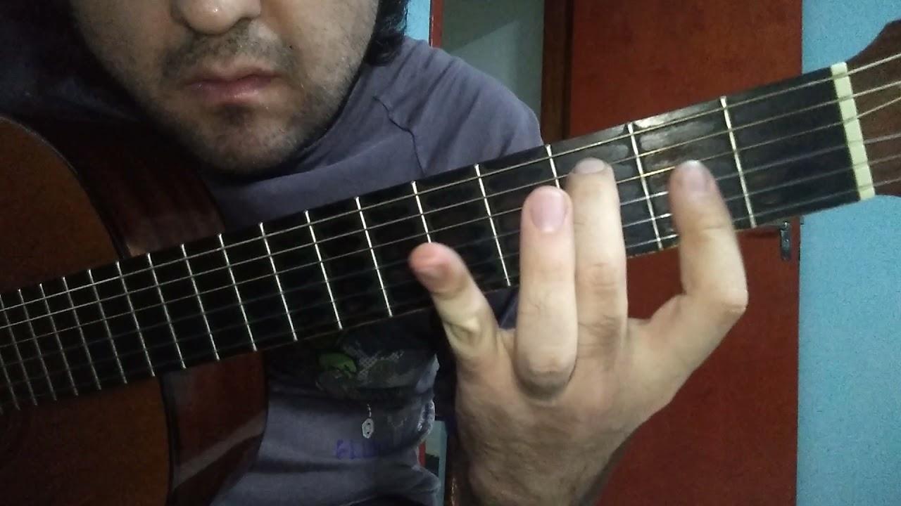 TANGO,PROMESAS DE AMOR - como tocar la guitarra