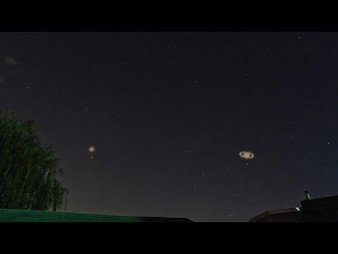 Just Mars & Saturn Tonight