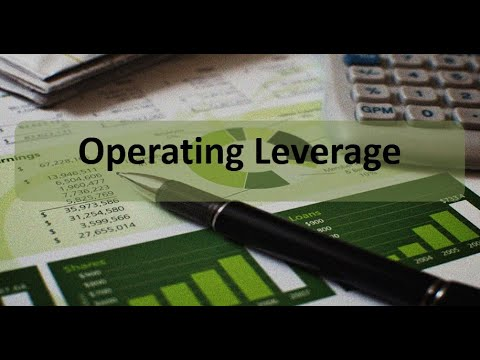 Managerial Accounting: Operating Leverage