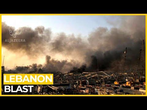 Dozens killed as huge explosion rips through Lebanon's Beirut