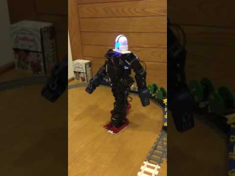 XYZrobot Bolide Y01 walks with human-like gait