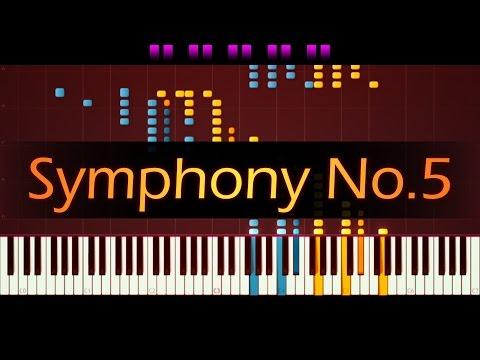 Symphony No. 5 (Piano) // BEETHOVEN