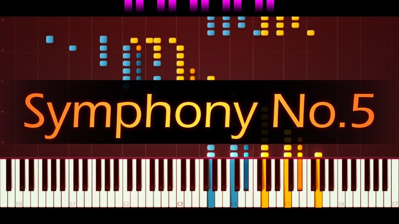 Symphony No  5  Piano       Beethoven