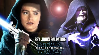 Rey Joins Palpatine In The Rise Of Skywalker! Leaked Hints (Star Wars Episode 9)