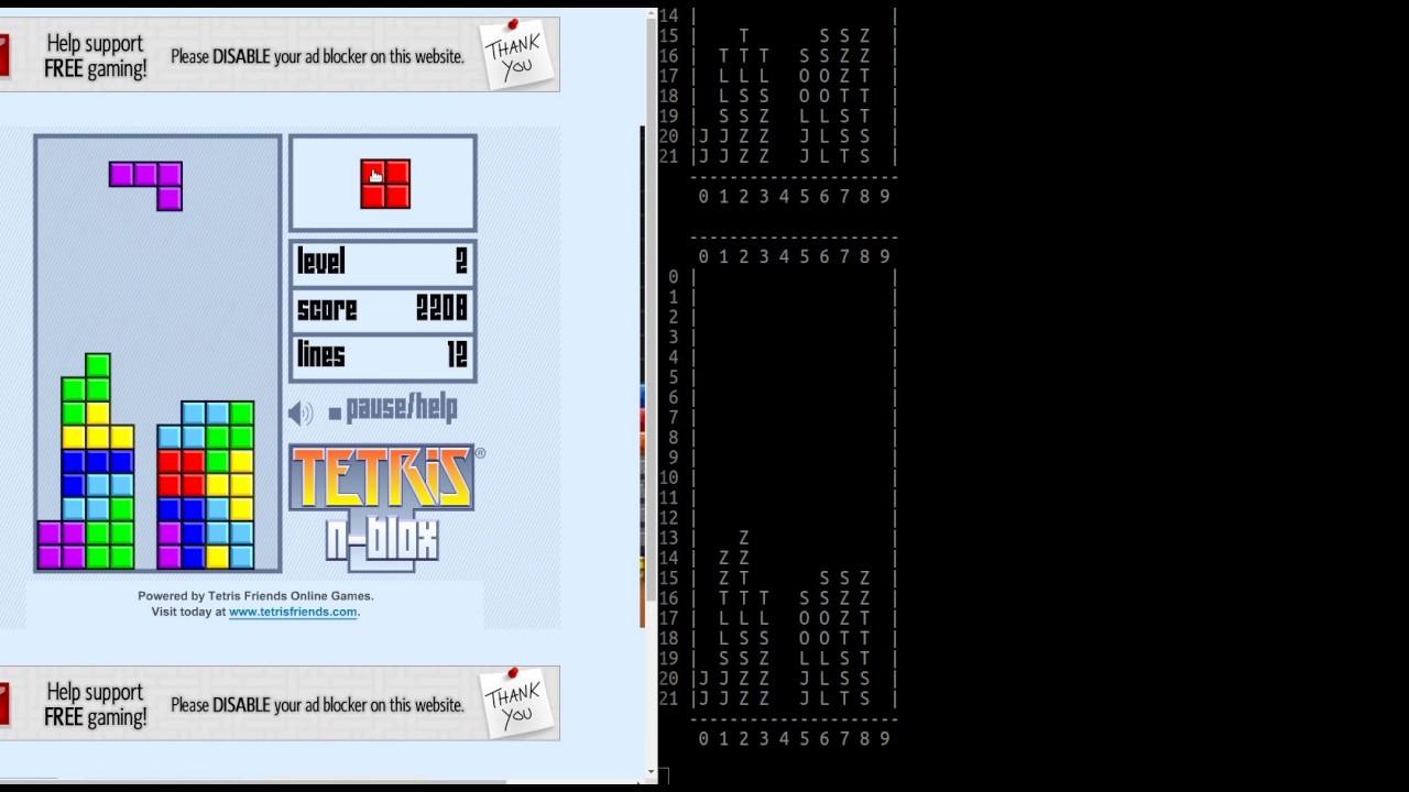 Building A Tetris Bot Part 1: The Stupid Bot - Python