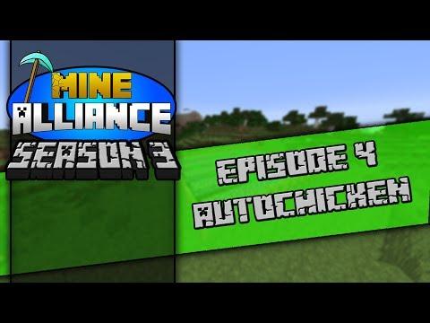 Mine Alliance Season 3 | EP4 | Auto-Chicken