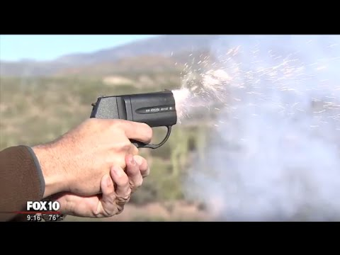 Less lethal gun being used in Arizona