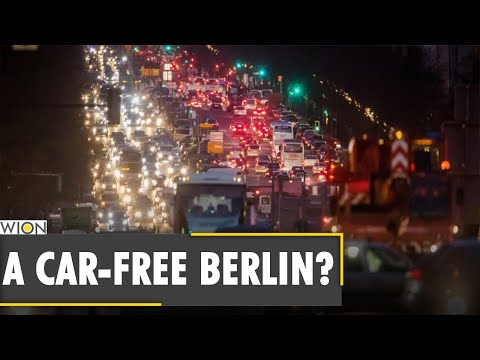 Germany: Berlin activists push for a car-free Germany   Latest World English News   WION News