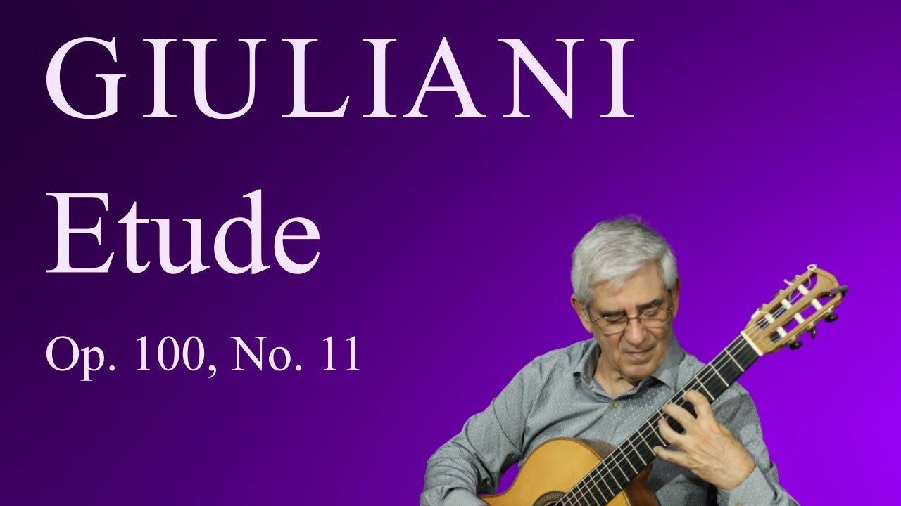 Etude, Op. 100, No. 11 (M. Giuliani)