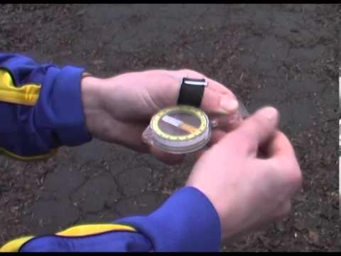 Работа с компасом.  Ориентирование по азимуту