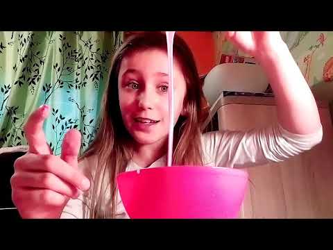 Making Slime With Two Ingredients!😍😝😱