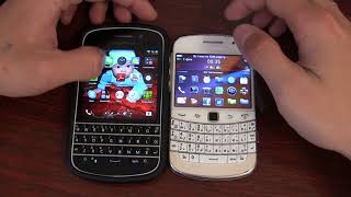 BlackBerry Q10 vs BlackBerry 9900 в 2018 году