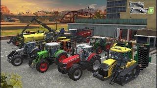 Farming Simulator 18 #9 Лесоводство топовая техника