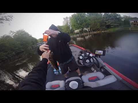 6-2-19 Bass Fishing Portage Lake(Michigan)