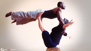 "AcroYoga Montreal ""To Da Beat""  with Jessie and Eugene"
