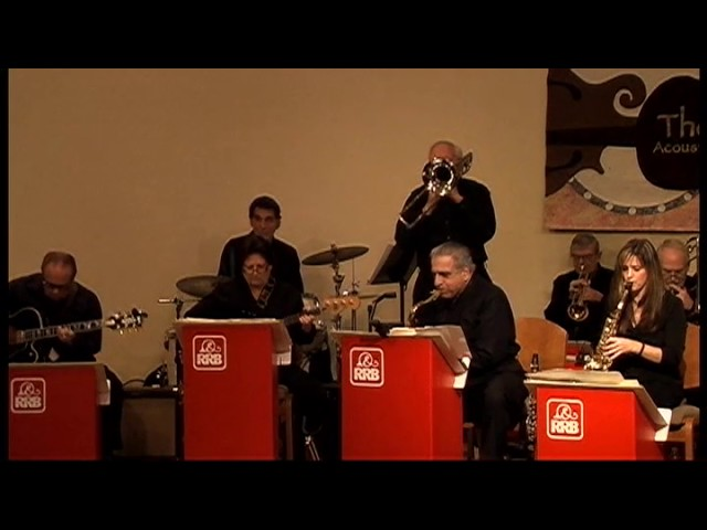 RRB big band: Almost Like Being in Love
