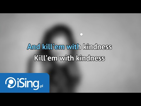 Selena Gomez - Kill Em With Kindness (karaoke iSing)